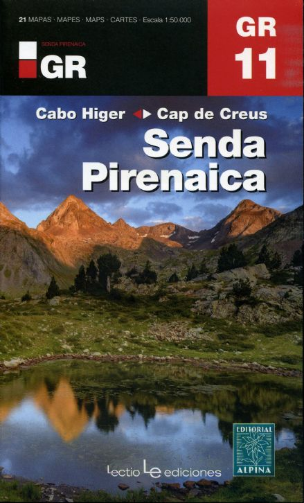 GR11 Senda Pirenaica - The Pyrenean Way - Map Pack - Cabo Higer to Cap de Creus - 2017